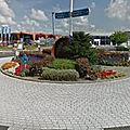 Rond-point à heemskerk (pays-bas)