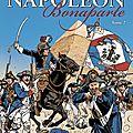 Napoléon tome 2 , la couverture .