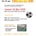 10/14 ans - tournoi de foot - jeunes