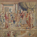 'the loves of mercury and herse. a tapestry series by willem de pannemaker' @ museo del prado
