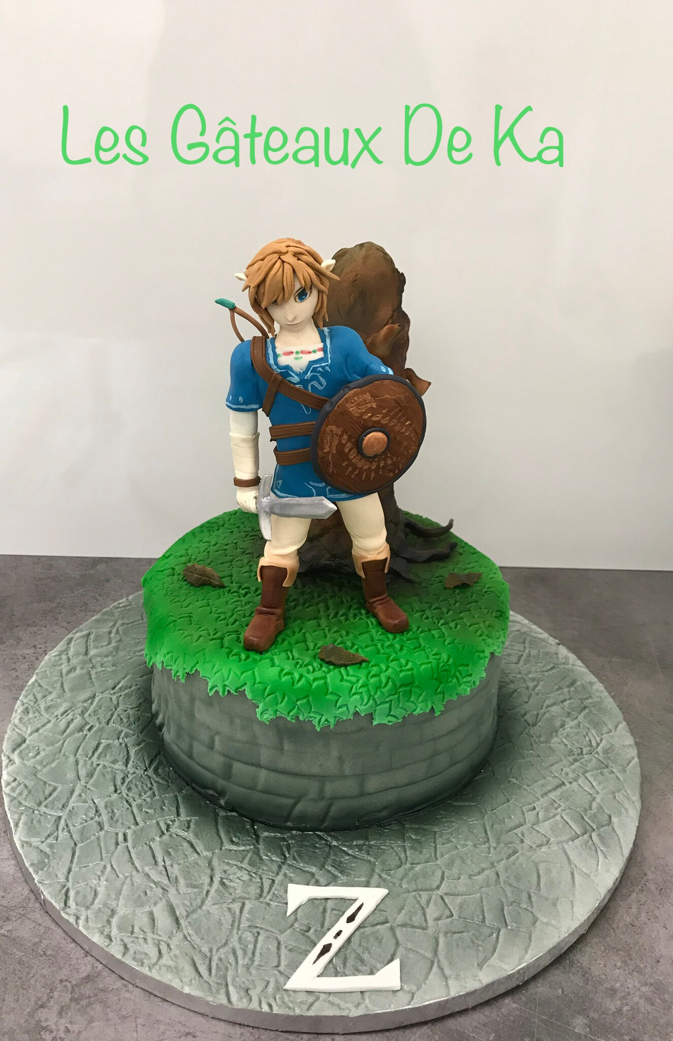 Link de Zelda breath of the wild