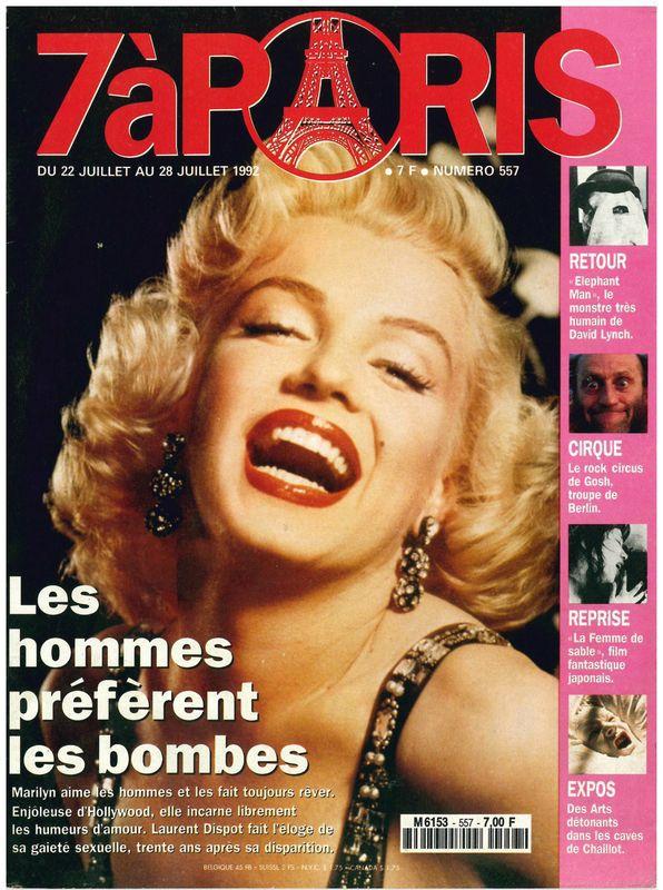 7 à Paris (Fr) 1992
