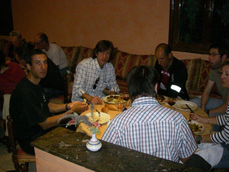 Diner à l'hotel Ametis