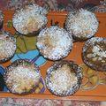 Tartelettes sablées compote de pommes & crème amande~Mireille