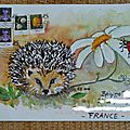 Mail art d'evelyne