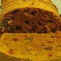 Cake potimarron/melon confit