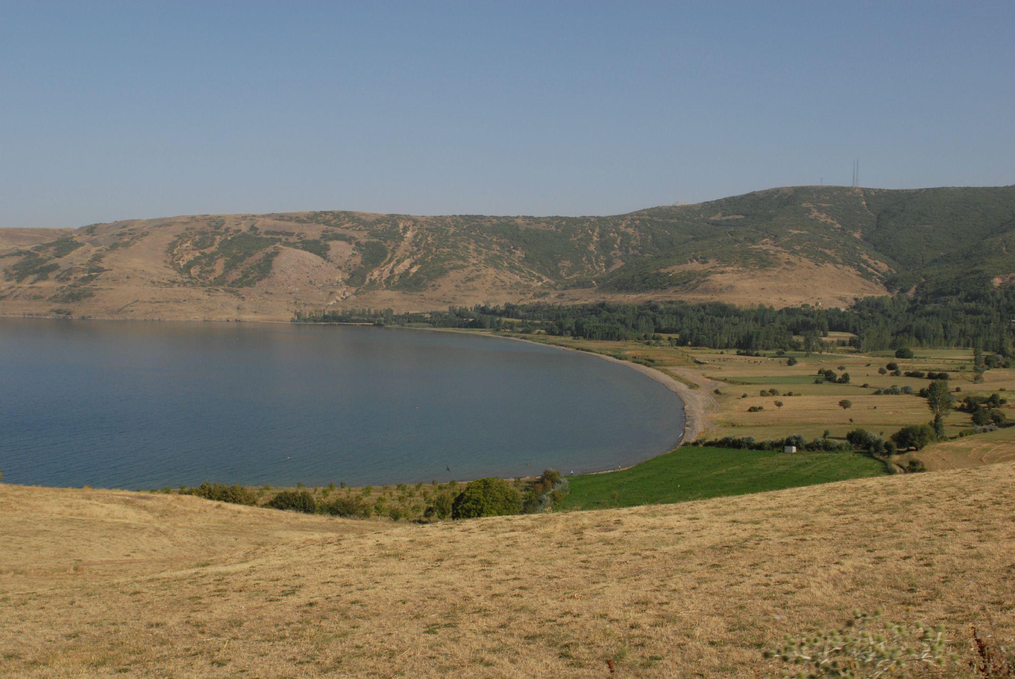 Baie sur lac de Van