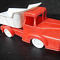 01070 camion benne unic marque inconnue