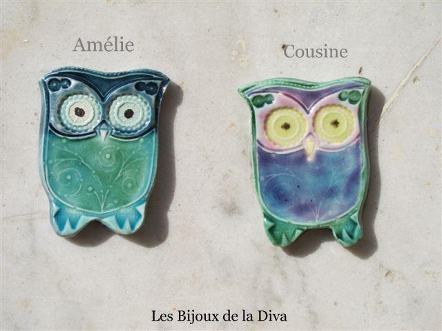 amélie et cousine.17,00 euros l'une
