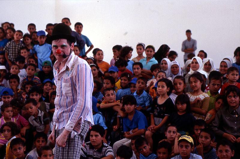 Clowns sans Frontières Bande de Gaza