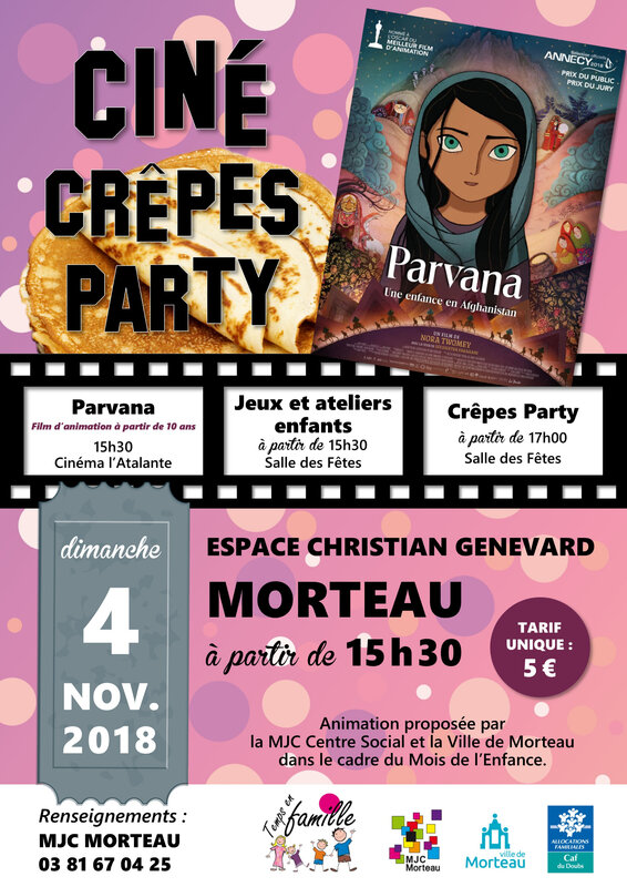 ciné crêpe party 2018