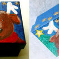 Boîte pour chocolats de noel - Renne