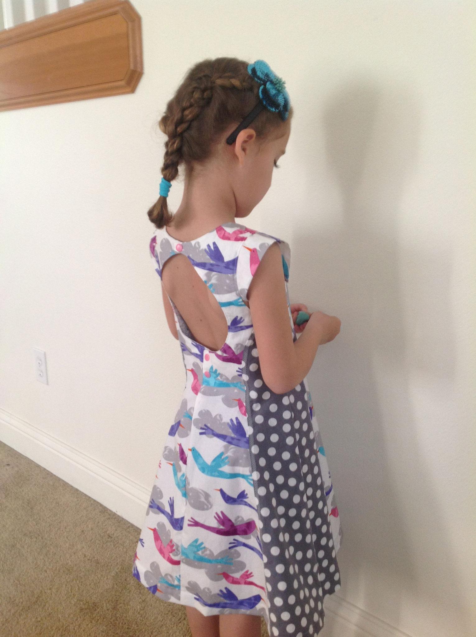 Patron robe fille 5 ans facile