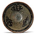 A 'Jizhou' papercut and tortoiseshell-glazed bowl, Southern Song dynasty (1127–1279)