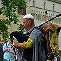 Les goliards joutes du château de brézé 2016 (musique médiévale)