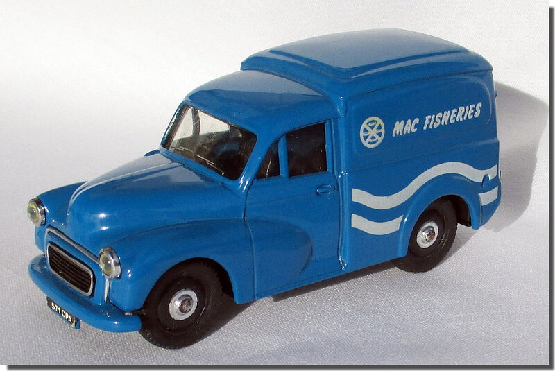 18 Morris Minor Van Mac Fisheries A 1