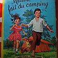 Martine fait du camping 1960