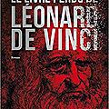 Le livre perdu de léonard de vinci, de francesco fioretti