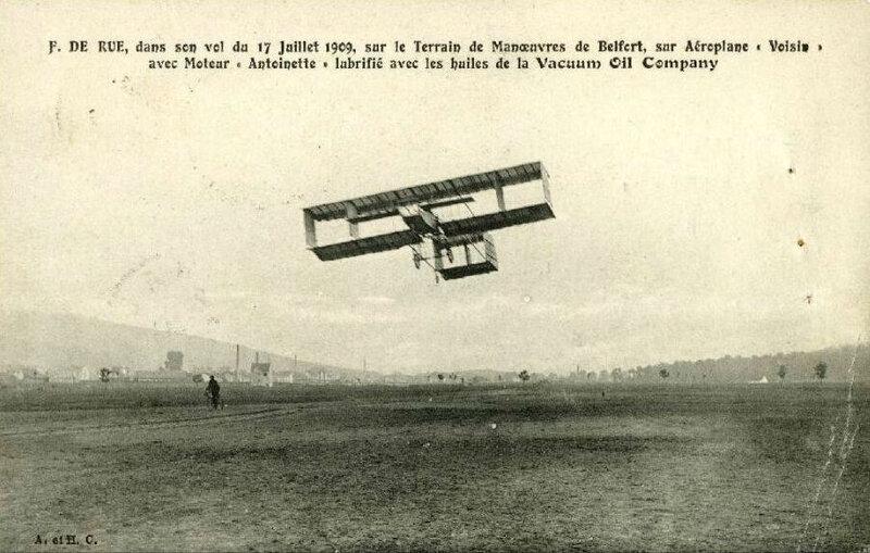 1909 07 14 Belfort CPA Envol F
