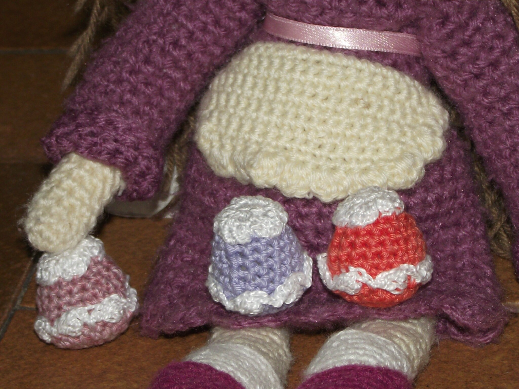 cupcake poupée au crochet coton fifty 3
