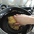 Tarte pomme-banane choco expresse