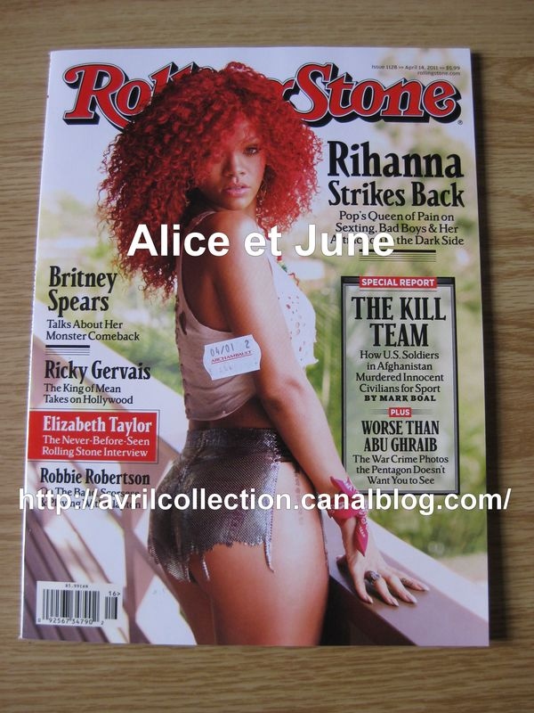 Rolling Stone magazine (avril 2011)