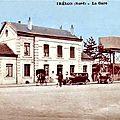 Trelon - la gare