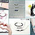 Bijoux Bracelet fin Minimaliste - Chaîne Perles Argent - Fait main France - ©Little Curiosité (2)
