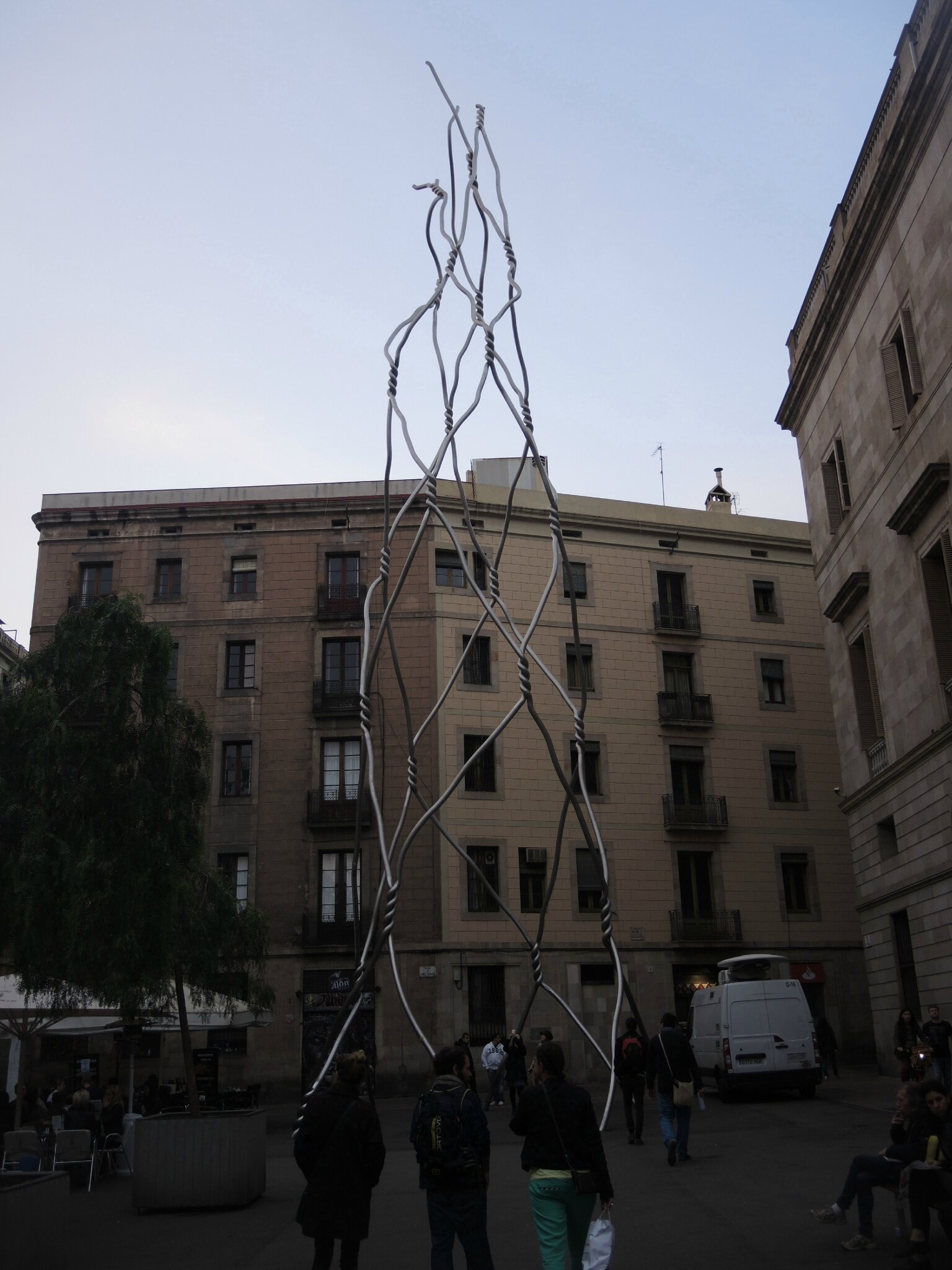 Barcelone, quartier gothique, sculpture