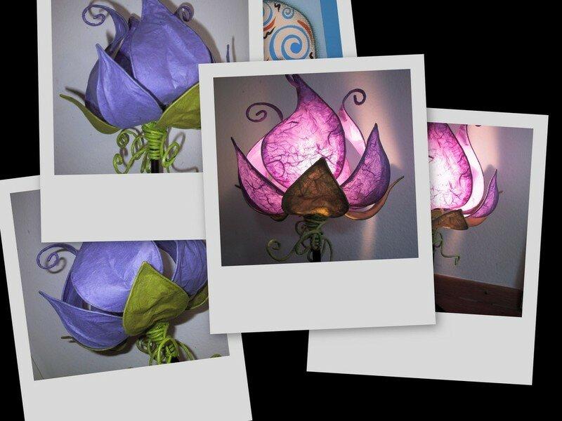 Lampe-fleur de K roll