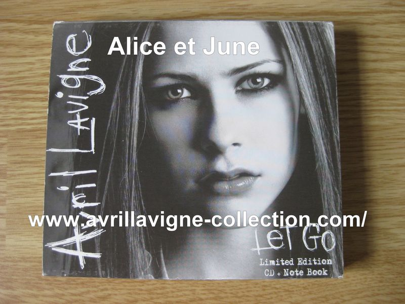Let Go-Limited Edition CD+Note Book Nouvelle-Zélande (2002)