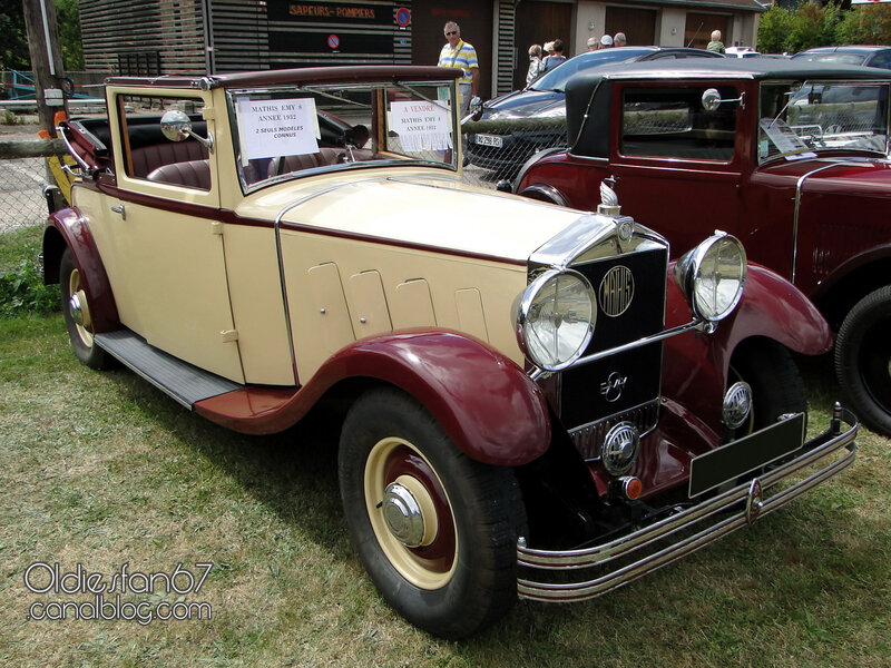 MATHIS EMY8 cabriolet-1932-01