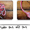 2 ficelles, un noeud, un collier ....