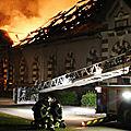 Saint-lô: la moitié du haras national de la capitale des ruines part en fumée!!!