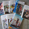 Lot de livres collection harlequin