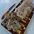 Cake à la cancoillotte et aux champignons