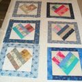 Baby quilt pour Anne