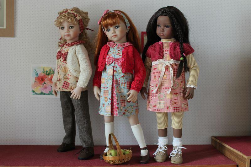Johanna, Savannah et Raven en automne 2013