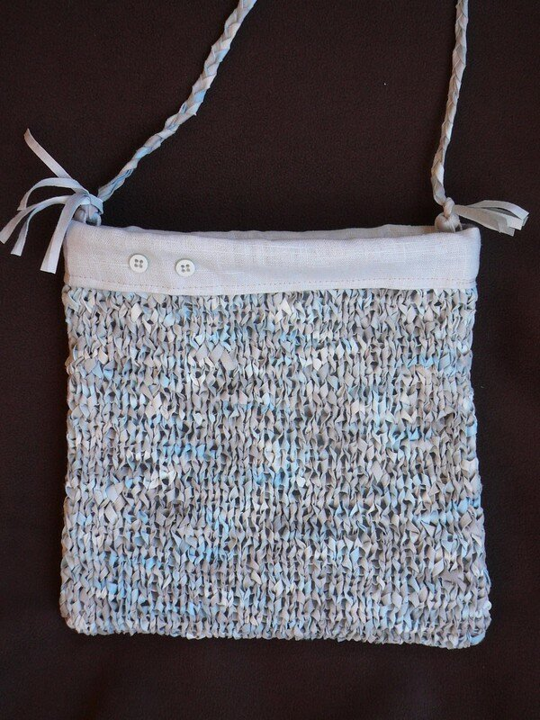 Pochette tricot