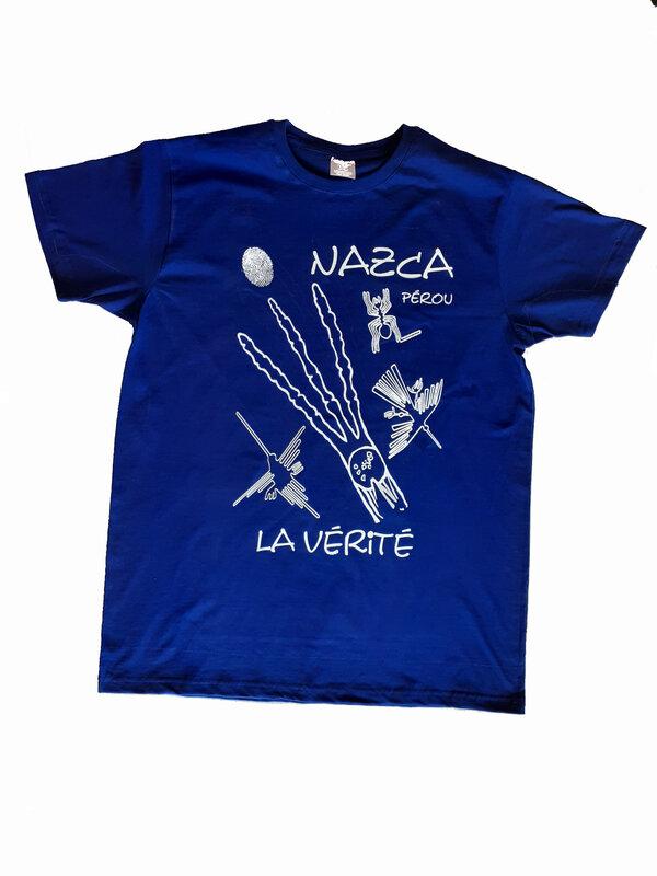 teeshirt bleu