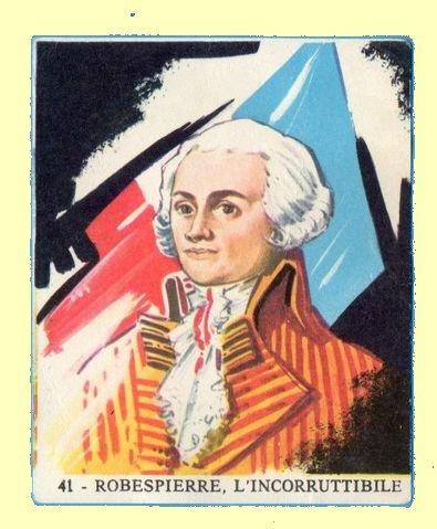 Robespierre, l'homme qui nous divise le plus.