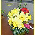 Art floral Pâques 2015 Loudéac Accueil Claudine