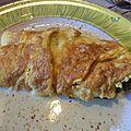 Omelette florentine