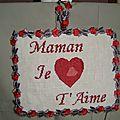 panneaux maman je t'aime