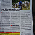 Article de la france agricole... egalim 2