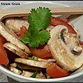 Salade de champignons à la chinoise