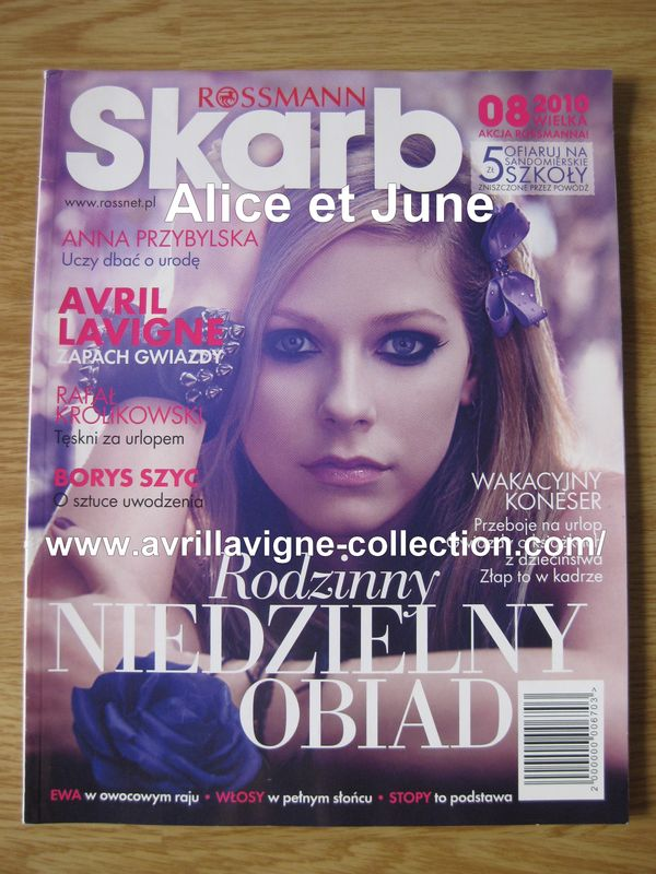 Forbidden Rose product - Skarb magazine-Pologne (août 2010)