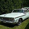 Plymouth fury 4door sedan 1962