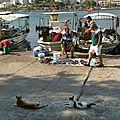 Retour de la pêche...en Turquie