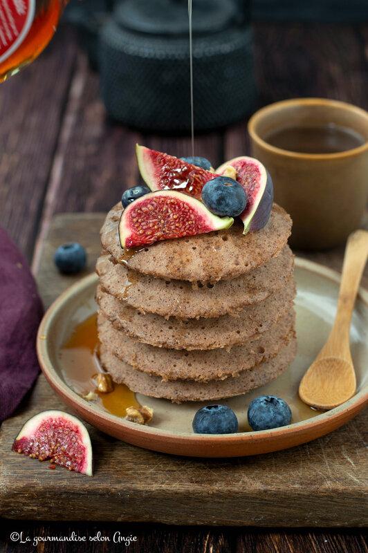 pancakes vapeur paléo sans sucre chataigne